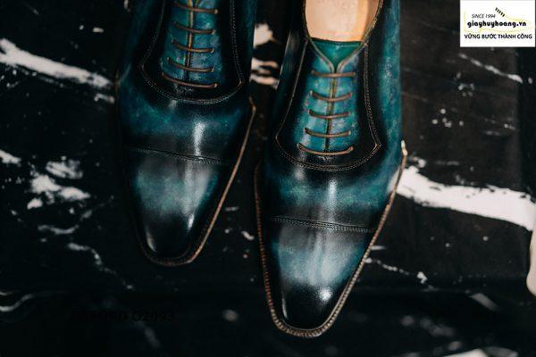 Giày tây nam cảm hứng từ đại dương Oxford O2093 006