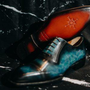 Giày tây nam cảm hứng từ đại dương Oxford O2093 004