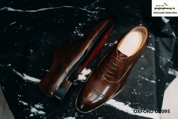 Giày tây nam captoe cực sang trọng Oxford O2095 05