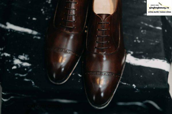 Giày tây nam captoe cực sang trọng Oxford O2095 02