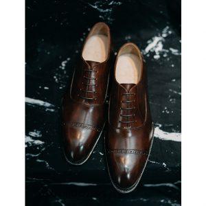 Giày tây nam captoe cực sang trọng Oxford O2095 01