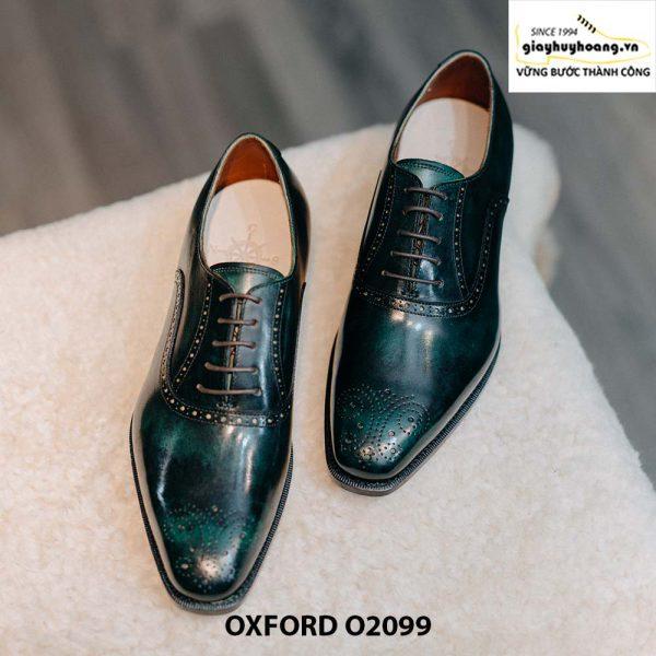 Giày tây nam màu sắc đẹp sang trọng Oxford O2099 004