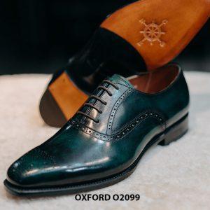 Giày tây nam màu sắc đẹp sang trọng Oxford O2099 003