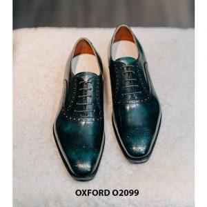 Giày tây nam màu sắc đẹp sang trọng Oxford O2099 001