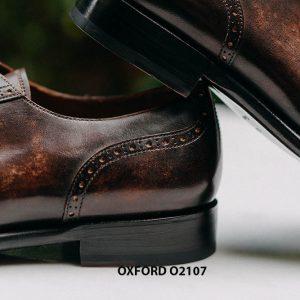 Giày da nam chính hãng cao cấp Oxford O2107 005