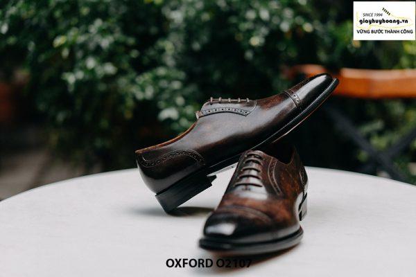Giày da nam chính hãng cao cấp Oxford O2107 003
