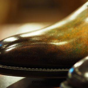 Giày tây nam đánh patina nghệ thuật Oxford O2088 005
