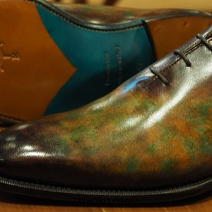 Giày tây nam đánh patina nghệ thuật Oxford O2088 003