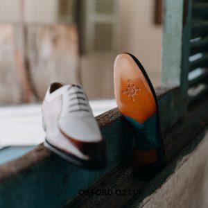 Giày da nam thiết kế độc đáo Oxford O2111 0003