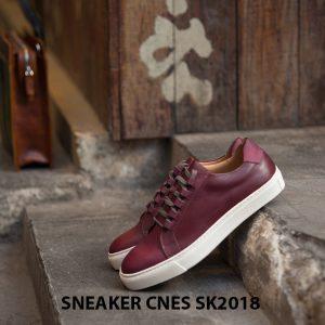Giày da nam thể thao cao cấp Sneaker SK2018 004
