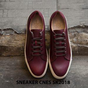 Giày da nam thể thao cao cấp Sneaker SK2018 001