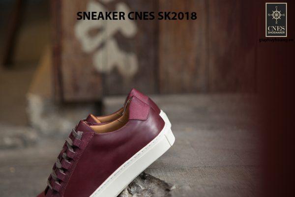 Giày da nam thể thao cao cấp Sneaker SK2018 003