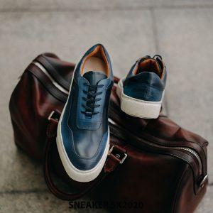 Giày da nam thể thao thủ công handmade Sneaker SK2020 004