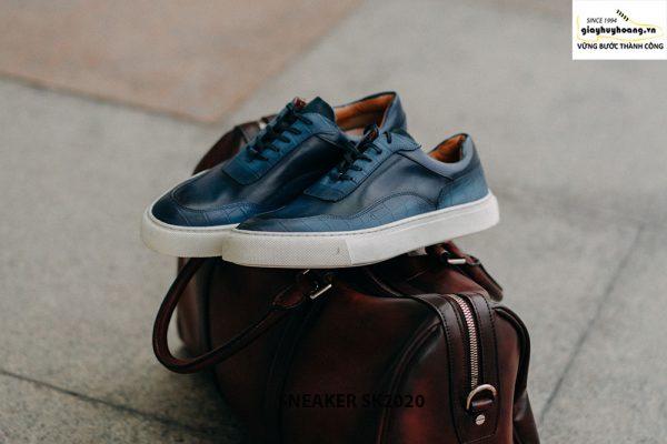 Giày da nam thể thao thủ công handmade Sneaker SK2020 003