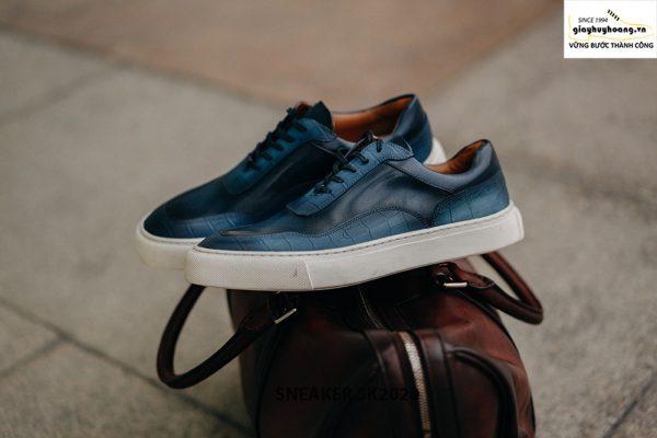 Giày da nam thể thao thủ công handmade Sneaker SK2020 001