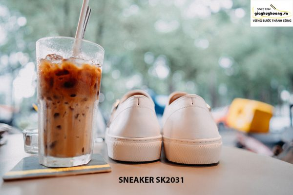 Giày da nam 2 khoá Monkstrap kết hợp Sneaker SK2031 006