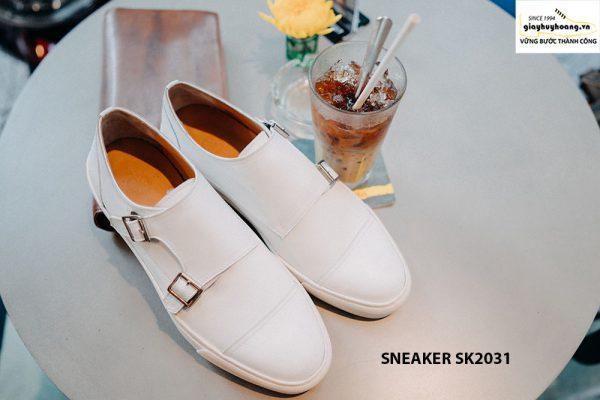 Giày da nam 2 khoá Monkstrap kết hợp Sneaker SK2031 005