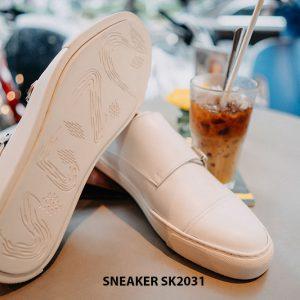 Giày da nam 2 khoá Monkstrap kết hợp Sneaker SK2031 004