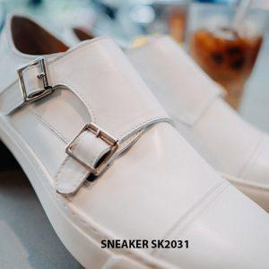 Giày da nam 2 khoá Monkstrap kết hợp Sneaker SK2031 002