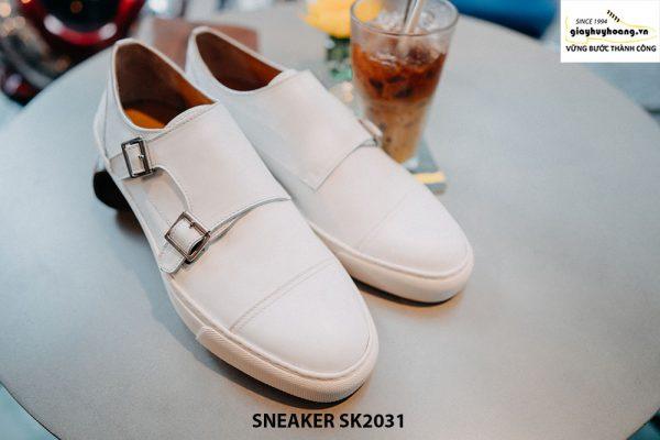 Giày da nam 2 khoá Monkstrap kết hợp Sneaker SK2031 001
