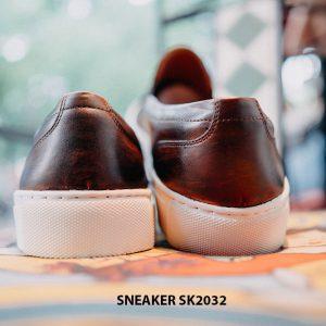 Giày da nam không dây kết hợp với Sneaker SK2032 005