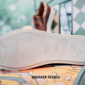 Giày da nam không dây kết hợp với Sneaker SK2032 004