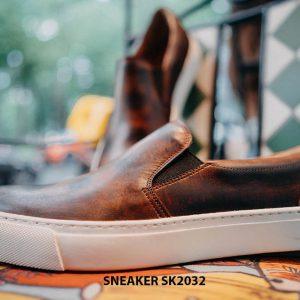 Giày da nam không dây kết hợp với Sneaker SK2032 003