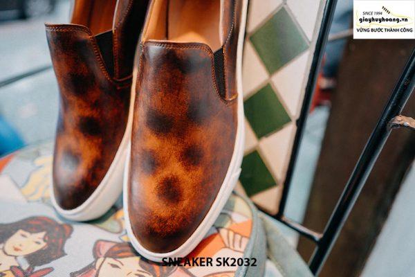 Giày da nam không dây kết hợp với Sneaker SK2032 002