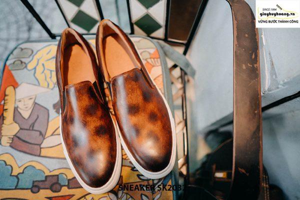 Giày da nam không dây kết hợp với Sneaker SK2032 001