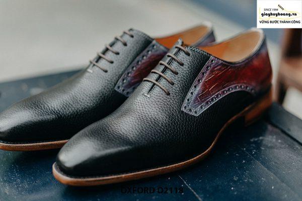 Giày da nam phong cách từ da bê hột Oxford O2118 003