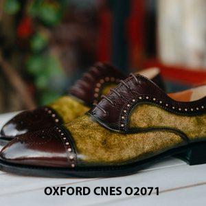 Giày da nam mẫu mới Oxford O2071 003