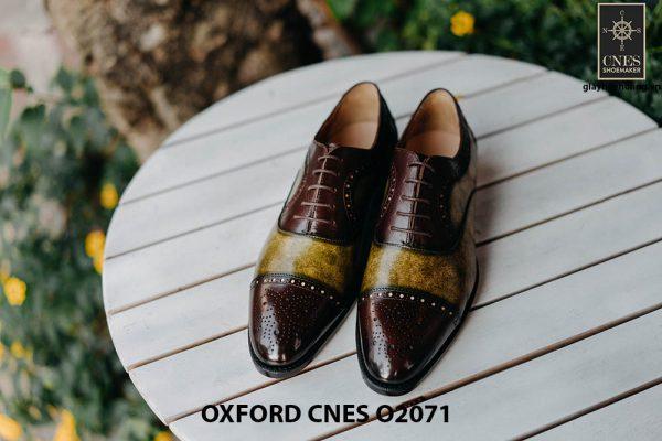 Giày da nam mẫu mới Oxford O2071 001