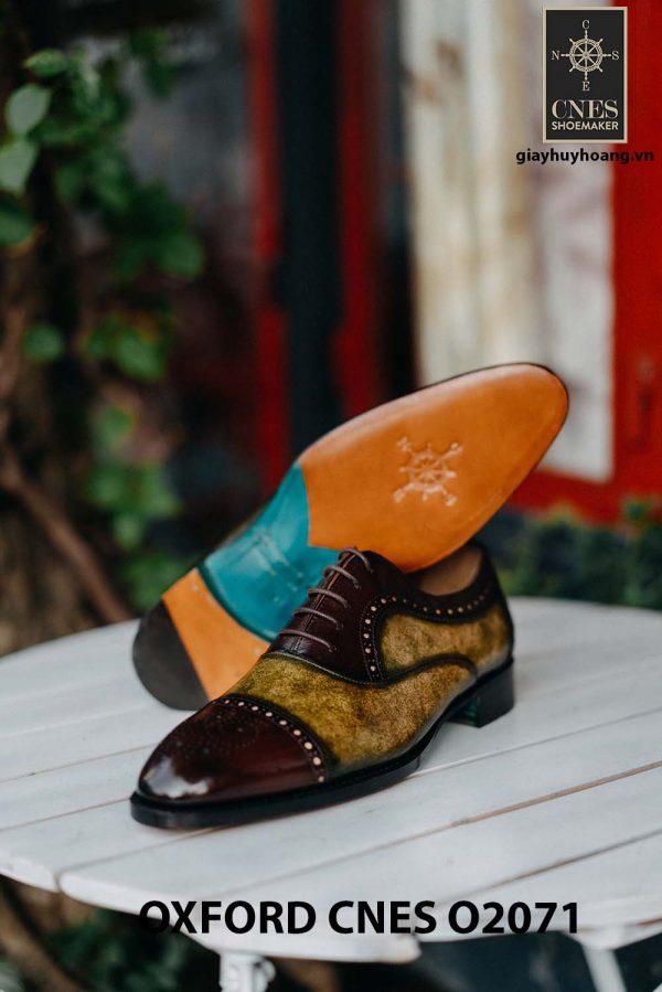 Giày da nam mẫu mới Oxford O2071 002