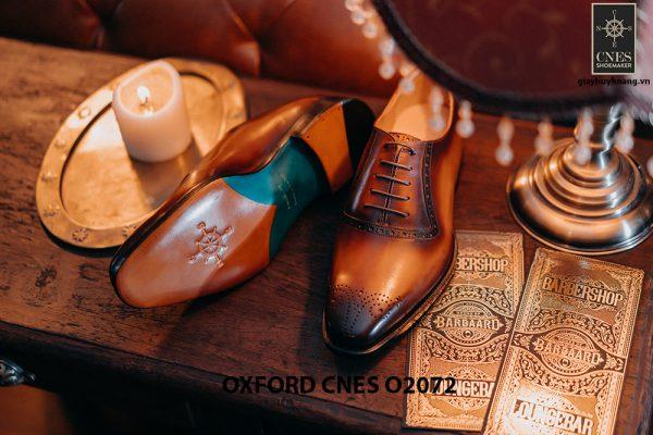 Giày tây nam thiết kế đẹp Oxford O2072 006