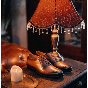Giày tây nam thiết kế đẹp Oxford O2072 004