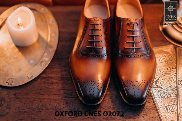 Giày tây nam thiết kế đẹp Oxford O2072 001