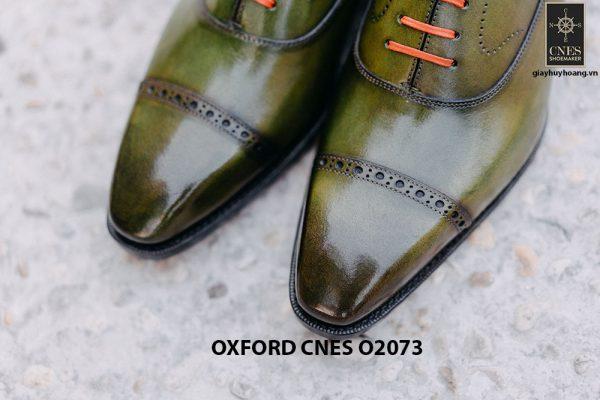 Giày da nam mũi vuông Oxford O2073 004