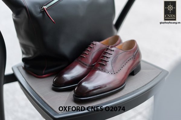 Giày da nam mẫu mới nhất Oxford O2074 001