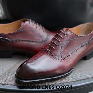 Giày da nam mẫu mới nhất Oxford O2074 003