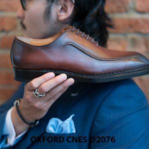 Giày da nam thiết kế độc đáo Oxford O2076 005