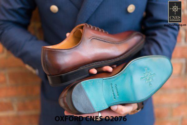 Giày da nam thiết kế độc đáo Oxford O2076 004