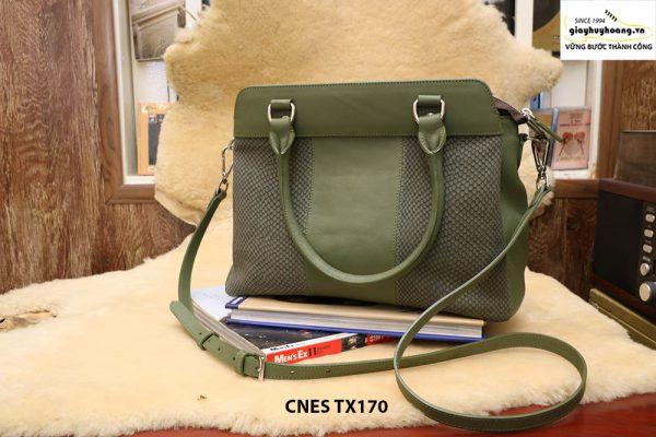Túi xách da thiết kế riêng cho nữ CNES TX170 001