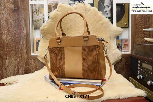 Túi xách da bê dùng đi chơi mua sắm CNES TX171 001