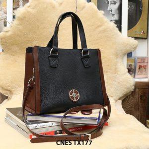 Túi xách da bê hột cho nữ chống nhăn CNES TX177 001