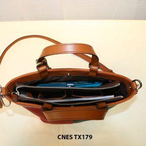 Túi xách da bò nữ đeo chéo dễ thương CNES TX179 004