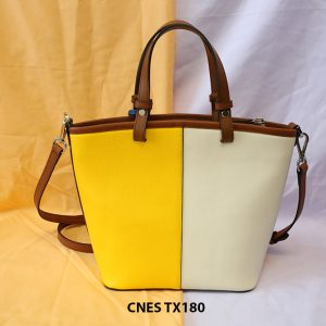 Túi xách da bò nữ đi chơi CNES TX180 003