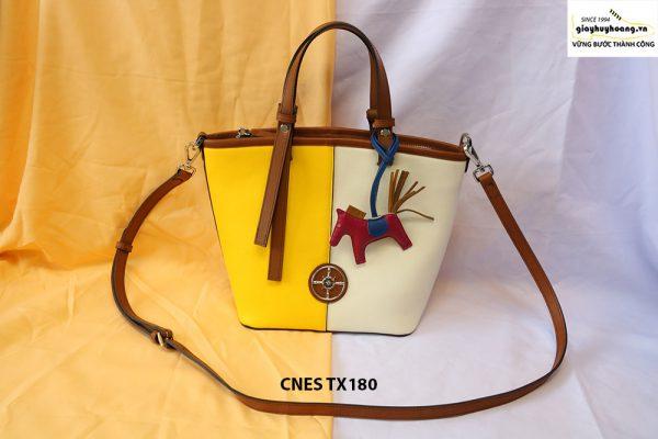 Túi xách da bò nữ đi chơi CNES TX180 001