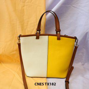 Túi xách đeo chéo da bò nữ CNES TX182 004
