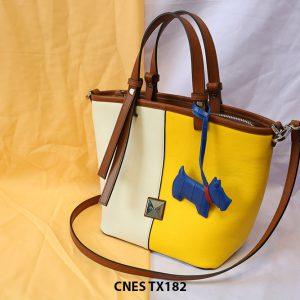 Túi xách đeo chéo da bò nữ CNES TX182 002