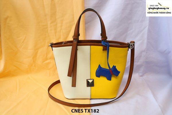 Túi xách đeo chéo da bò nữ CNES TX182 001